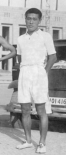 1936 Sohn Kee-chung (Corée du Sud) JO de Berlin Allemagne