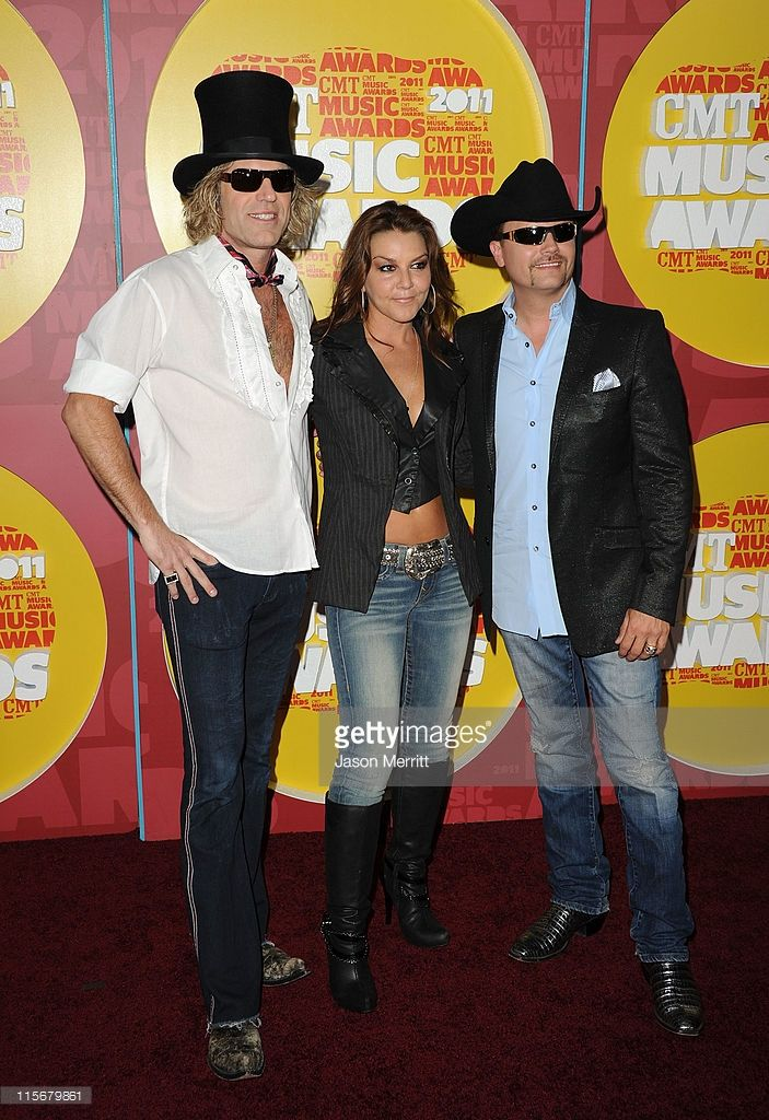 Musicians Big Kenny, Gretchen Wilson and John Rich attends the 2011 CMT Music Awards at the Bridgestone Arena on June 8, 2011 in Nashville, Tennessee.