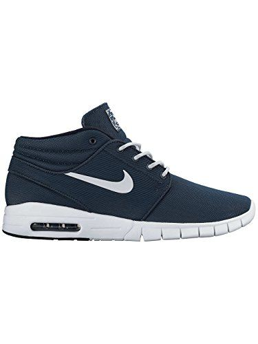 watch 33cd9 3d849 nike SB stefan janoski max mid mens trainers 807507 sneakers shoes US 8  squadron blue white dark obsidian white 414    Check out the image by  visiting the ...