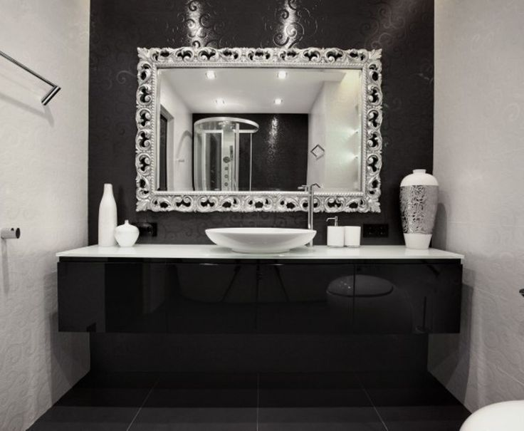 25+ Best Ideas About Bathroom Mirror Design On Pinterest