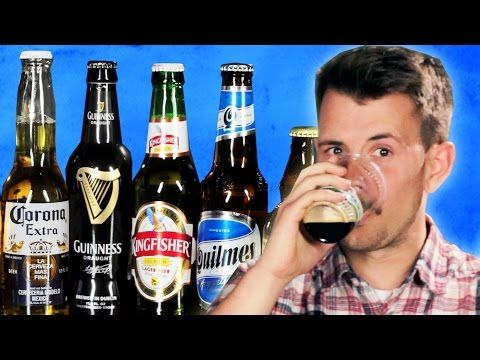 People Try Popular Beer From Around The World