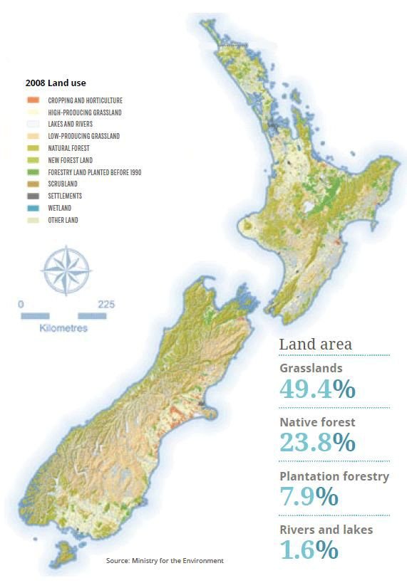 Major Natural Resources Of New Zealand