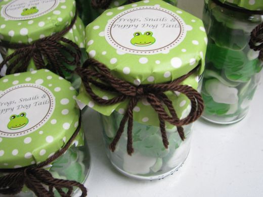 Frog Theme Baby Shower