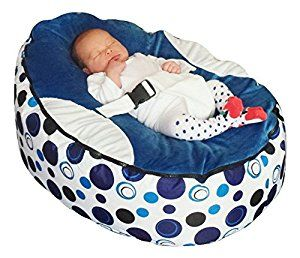 Baby bean bag snuggle bed bouncer with filling: Amazon.co.uk: Baby