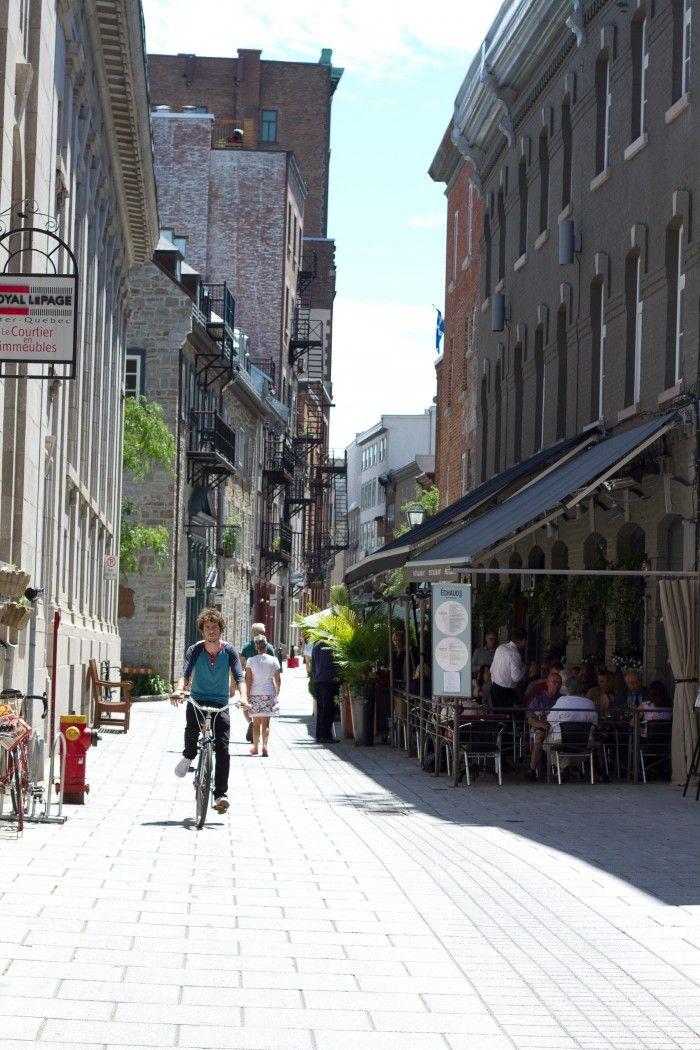 Rue Sault-au-Matelot #quebecregion #VieuxQuebec #OldQuebec  http://www.trip-usa-canada.com/