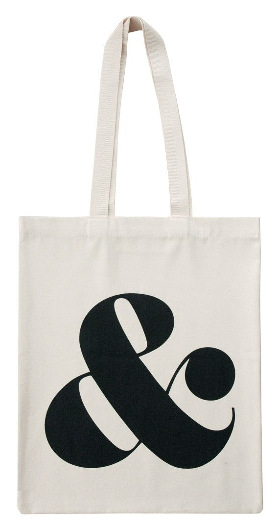 We love the ampersand symbol, it's our favourite symbol of