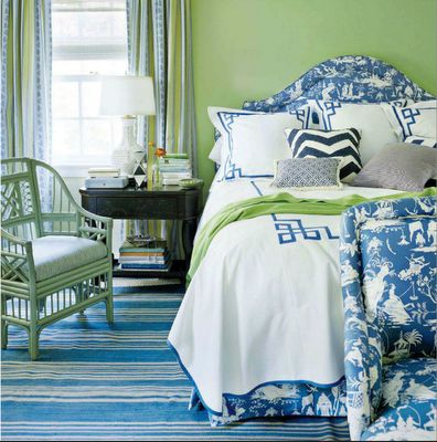 Love color comboDecor, Guest Room, Ideas, Colors Combos, Beach House, Green Bedrooms, Green Wall, Blue Green, Blue Bedrooms