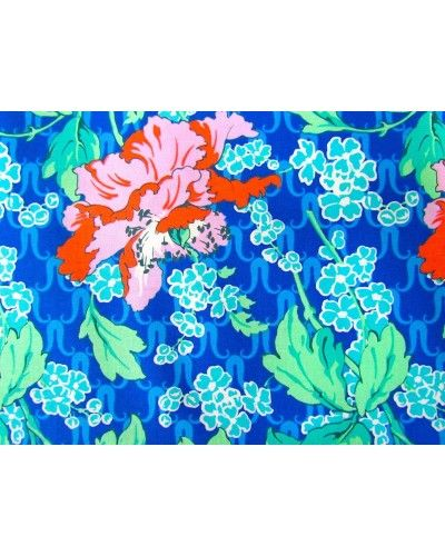 Amy Butler- Violette- Field Poppy- Sky - $25.95 #amybutler #fabric #patchwork #quilting