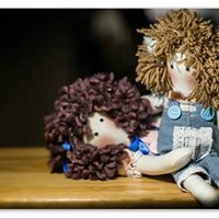 Youbou handmade dolls by Virginia Inglesi