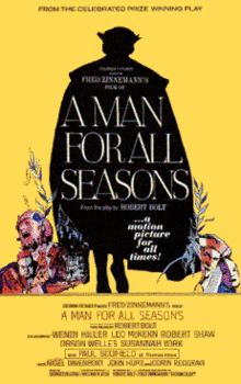 a synopsis of a man for all seasons a play by robert bolt A man for all seasons: an historian's demur a man for all seasons[1] mr robert bolt found in these lines a title for after all, the play's the.