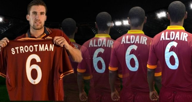 From Aldair to Strootman, numbers that matter