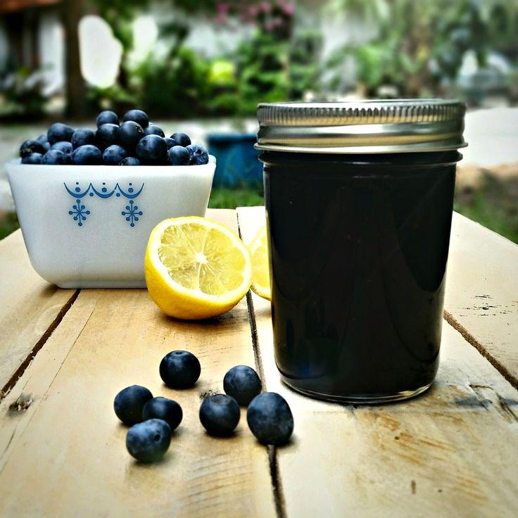 Blueberry Lemon Jam