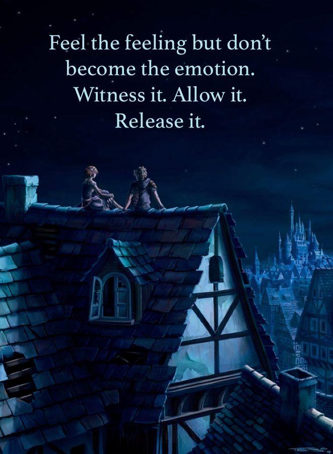 Feel the feeling ...