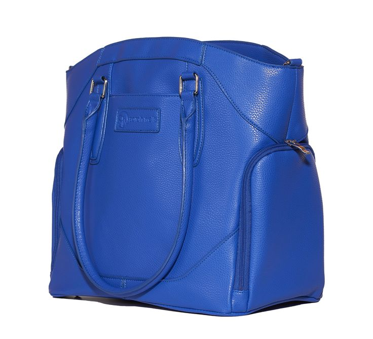 "Amazon.com : Sarah Wells ""Annie"" Breast Pump Bag in Dazzling Blue : Baby"