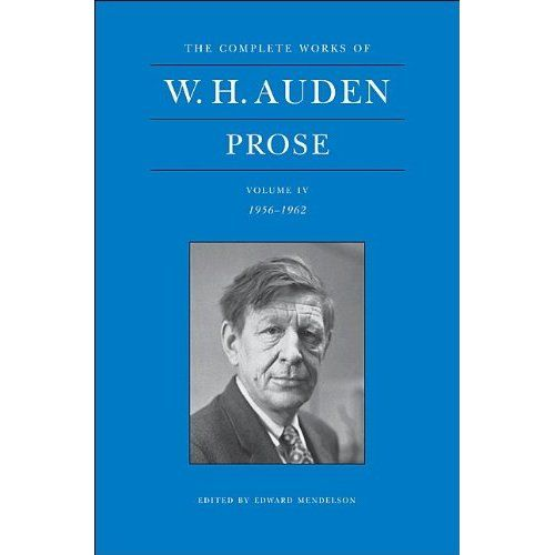 O, Where Are You Going W. H. Auden