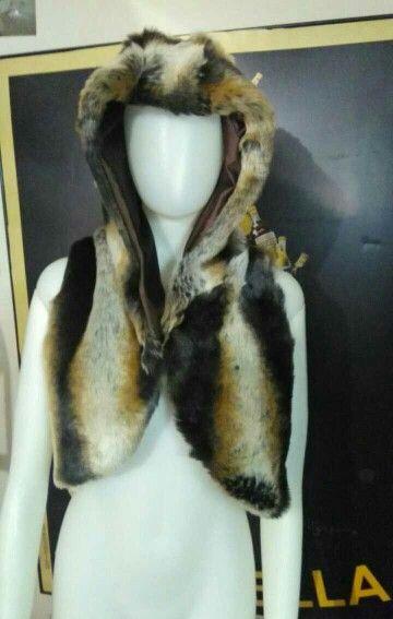 Furry ferret vest
