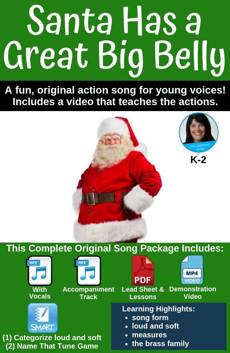 Christmas Song & Activity Santa Song mp3s, Music