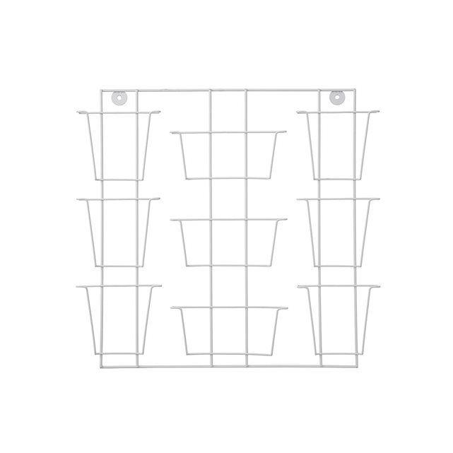 HEMA présentoir à photos - 41 x 43 cm - bois - blanc HEMA