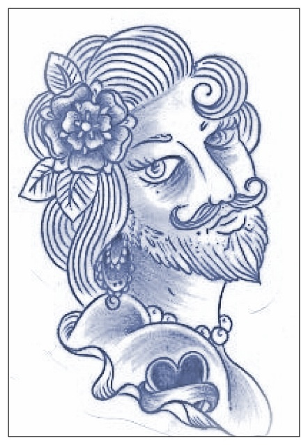 1000 images about bearded lady on pinterest for Tattoo freak costume