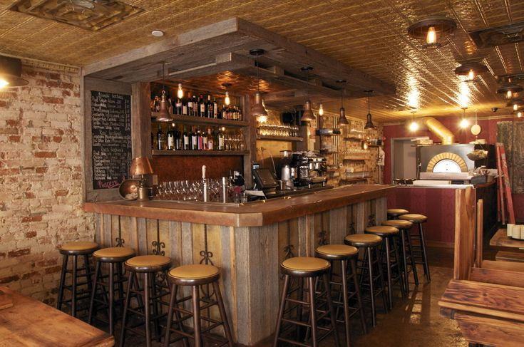 For This Rustic Pizzeria The Owner Wanted A Wood Cladding