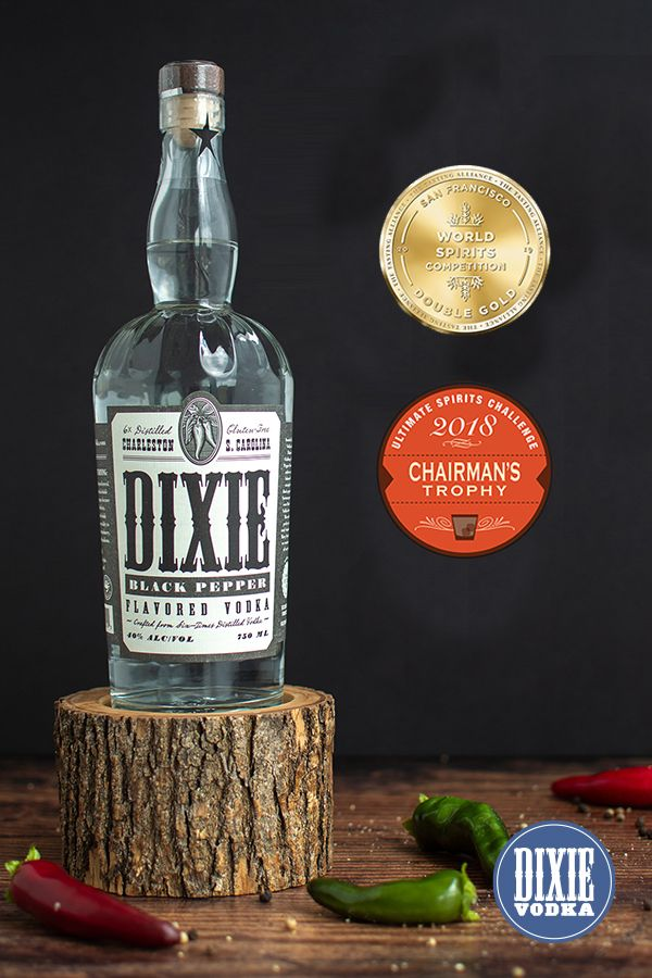 Our Award Winning Dixie Black Pepper Vodka Is What Your Taste Buds