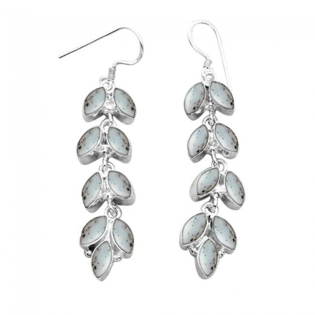 Topaze bleue Boucles d/'oreilles .925 Sterling Silver Handcrafted