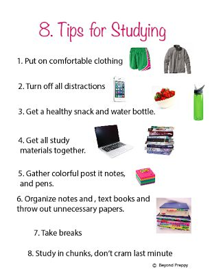 How to get the most out of your study time