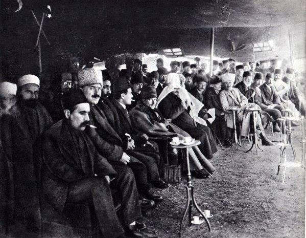 Ankara, 22 Mart 1922 Atatürk-ün katıldığı Nevruz Töreni