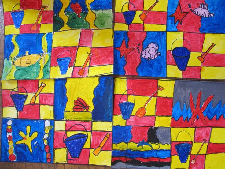 We used #paint and felt tip pen to create these #AndyWarhol inspired #artworks. What do you think? #ChildrensArtClass