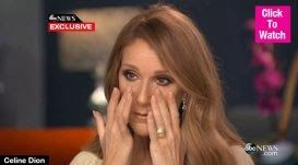 Welcome To Chitoo's Diary.: CELINE DION IN TEARS : REVEALS HER HUSBAND USING T...