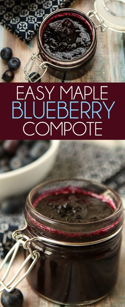This maple blueberry sauce is the perfect topper for all of your breakfast recipes or even great for your favorite chicken or dessert recipes! I love how easy it is.