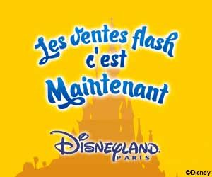 Vente flash de 7 jours à Disneyland Paris : Jusqu'à -50% de réduction + séjour gratuit pour les moins de 12 ans | Maxi Bons Plans