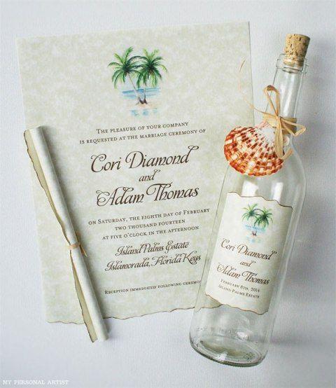 Unique Beach Wedding Ideas: 23 Best Images About Wedding Invitation Wording On