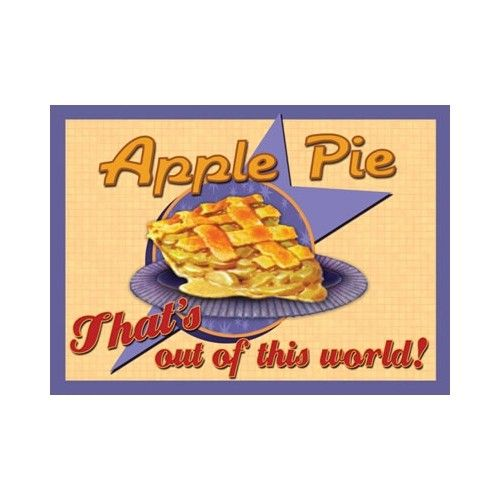 Our retro style Apple Pie sign brings you back to a time when delicious 'from…