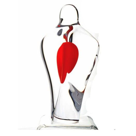 CORAZON limited edition sculpture Design: Göran Wärff A sculpture from Sweden's world famous glass artist, Göran Wärff. Limited edition of 300 pieces.