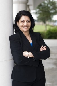 Houston Community College Trustee Neeta Sane is the first HCC trustee to receive a Greater Houston Service Award for her service to HCC and the Greater Houston Area.