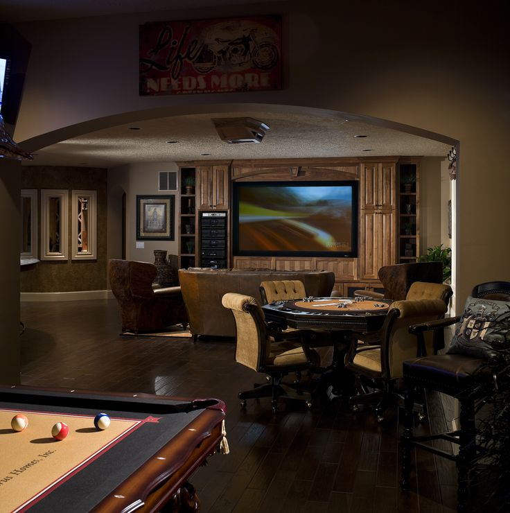 Best Basement Subfloor Materials For Your Man Cave: Billiard Room, Basement Ideas And Entertainment Room