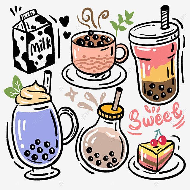 Pearl Milk Tea Milk Cup Dessert Drink Dessert Clipart Milk Tea Pearl Png Transparent Clipart Image And Psd File For Free Download Milk Tea Bubble Milk Tea Coffee Cup Drawing