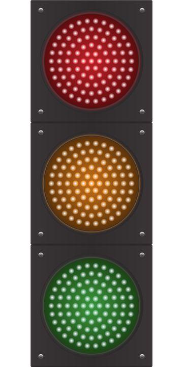 신호등 벡터 이미지입니다.    traffic lights vector image