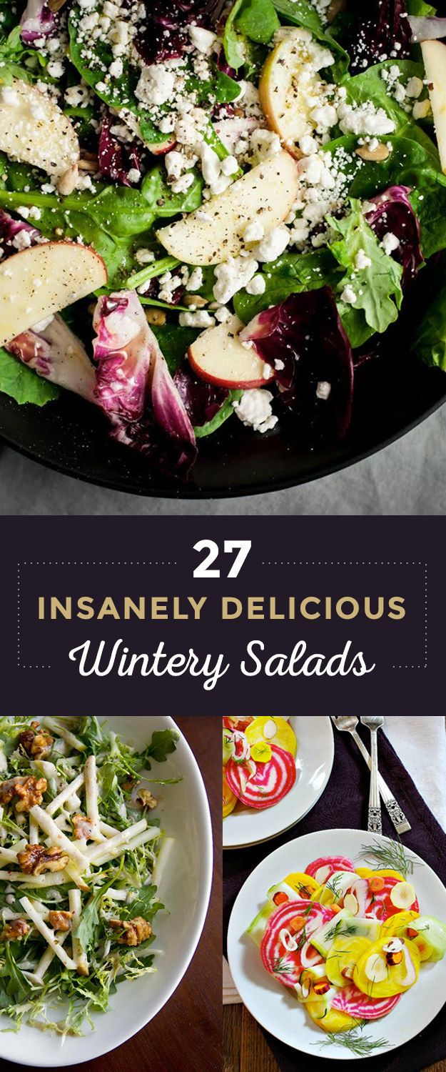Because after that third helping of mashed potatoes, you'll need a savior, and that savior is a salad.