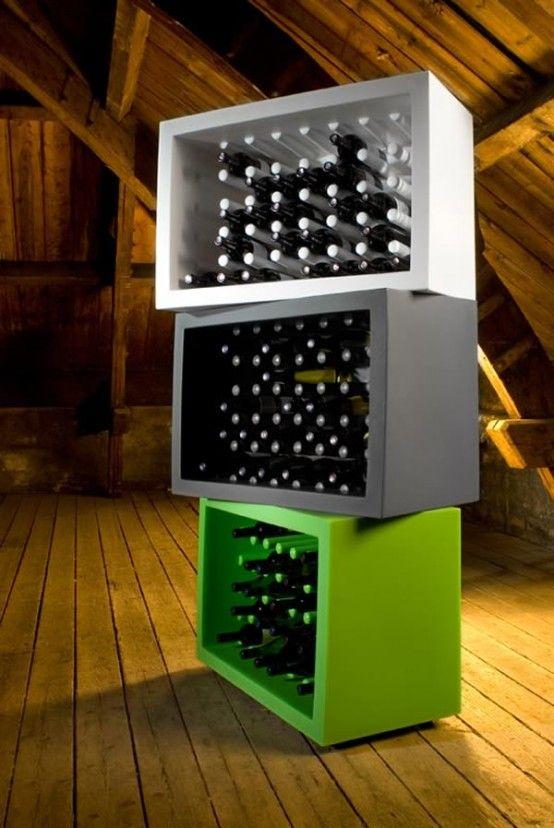 box style wine holders