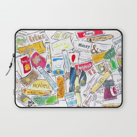 Sugar Bag Laptop Sleeve by World Sketching Tour - Luís Simões | Society6