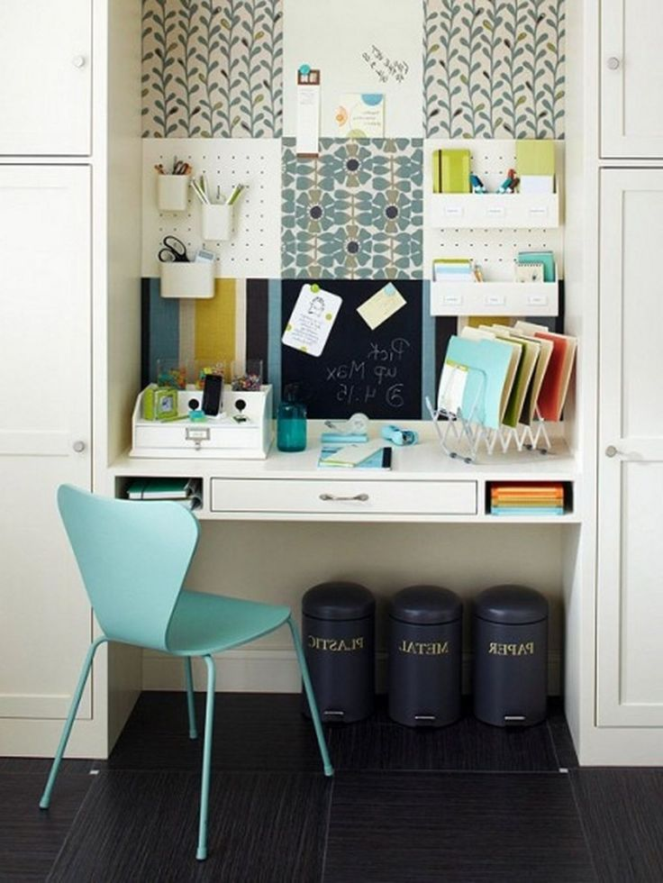 best 25 home office setup ideas only on pinterest small office design neutral home office. Black Bedroom Furniture Sets. Home Design Ideas