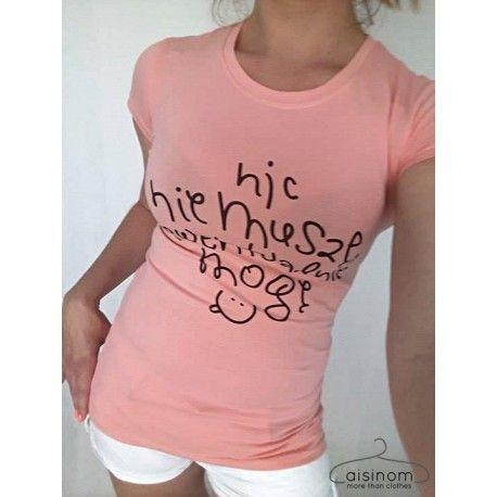 Nic nie muszę ewentualnie mogę - bawełniany rewelacyjny t-shirt