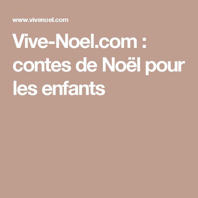 Vive-Noel.com : contes de Noël pour les enfants