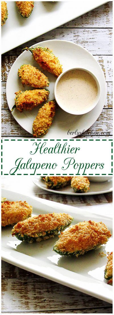 Healthier Jalapeno Poppers are filled with soft cream cheese and smoky paprika…