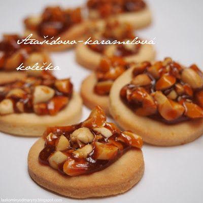 Laskominy od Maryny: Arašídovo-karamelová kolečka