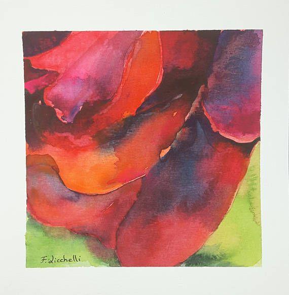 Ehi, ho trovato questa fantastica inserzione di Etsy su https://www.etsy.com/it/listing/531805459/rosa-rossa-acquerello-dipinto-originale