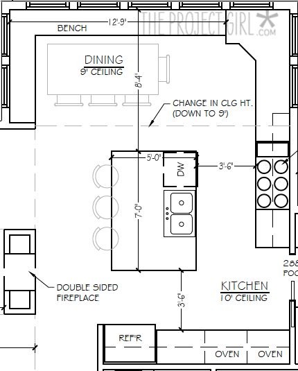 Floorplan Really Loving Everything About This Post Kitchen Modern Farmhouse They Layout Is