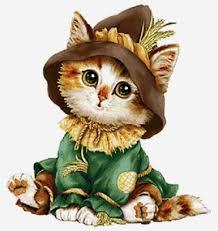 Risultati immagini per малыш и котенок